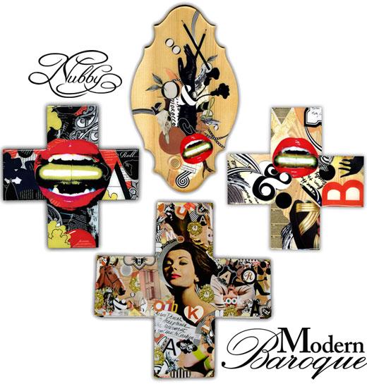 Modern baroque art added to store nubby for Modern baroque art
