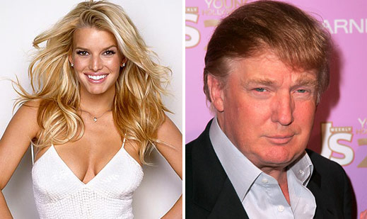 jessica simpson donald trump