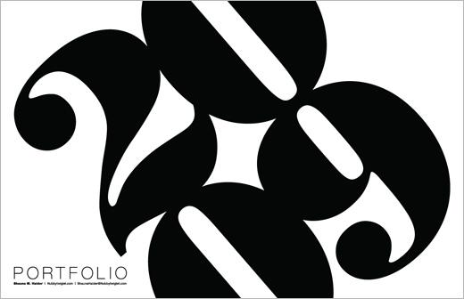 graphic design portfolio cover page