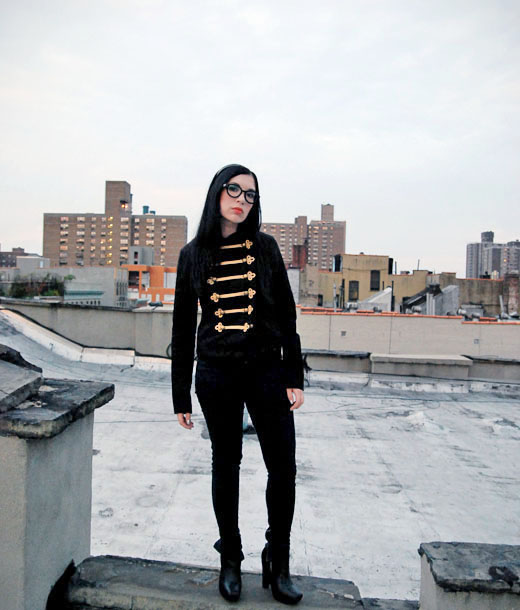 what i wore nubby new york style outfit