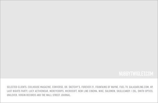 portfolio graphic design nubby twiglet