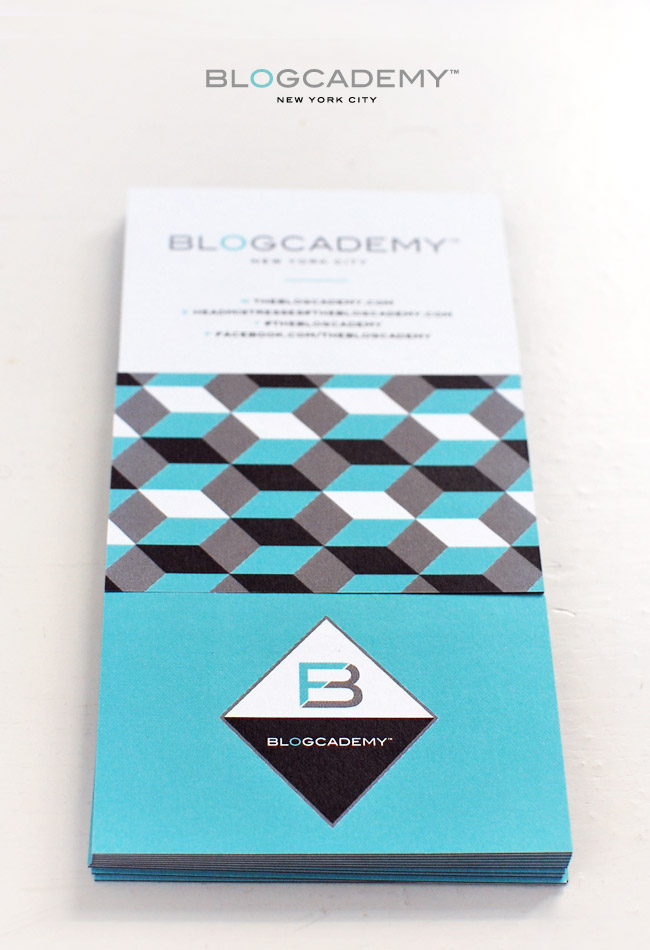 The Blogcademy Collateral