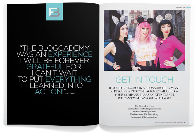 The Blogcademy Media Kit