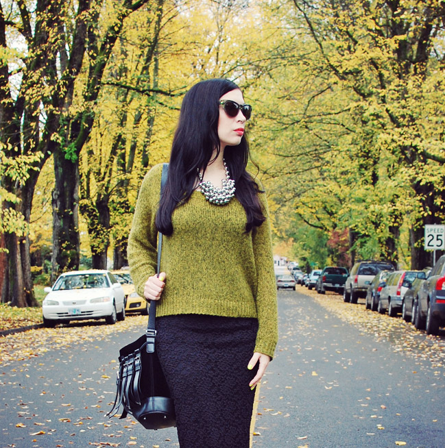 What I Wore: Sweater Season