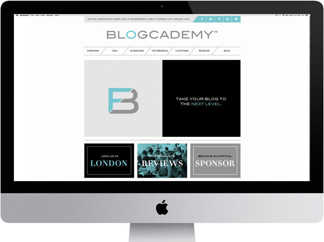 The Blogcademy Websit