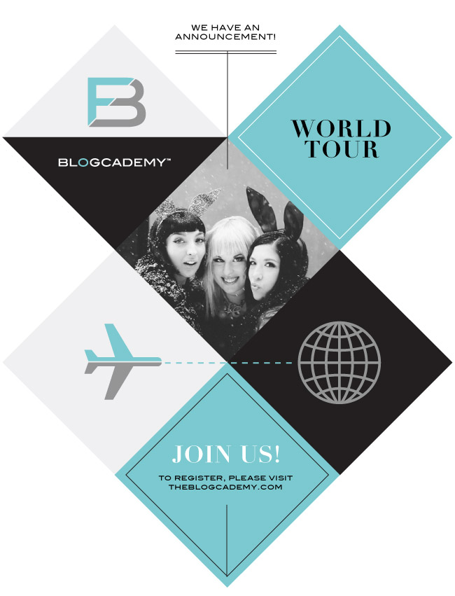 The Blogcademy World Tour