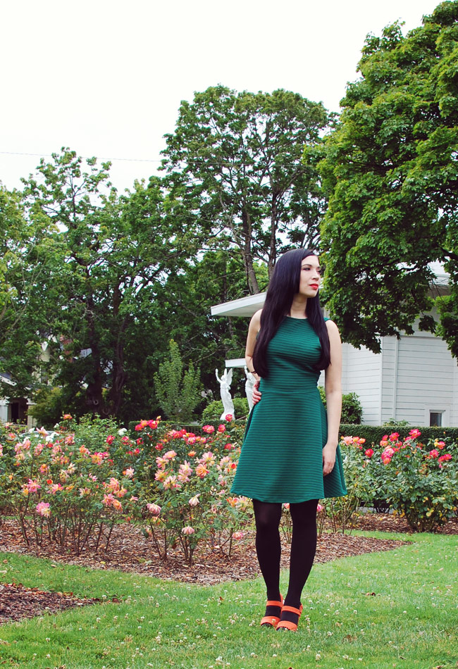 What I Wore: Coming Up Roses