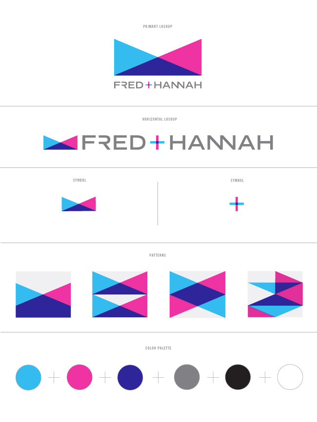 Nubby Twiglet Identity Development and Collateral Fred + Hannah