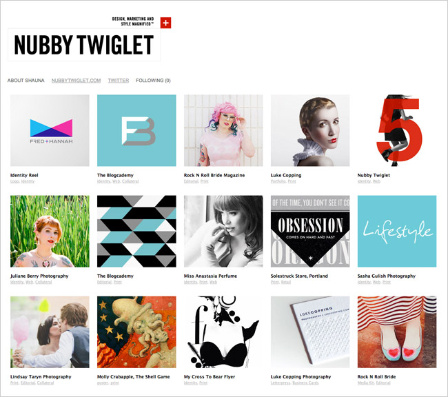 Nubby Twiglet Digital Portfolio Update